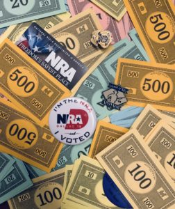 The NRA has been acting Funny with Member's Money.